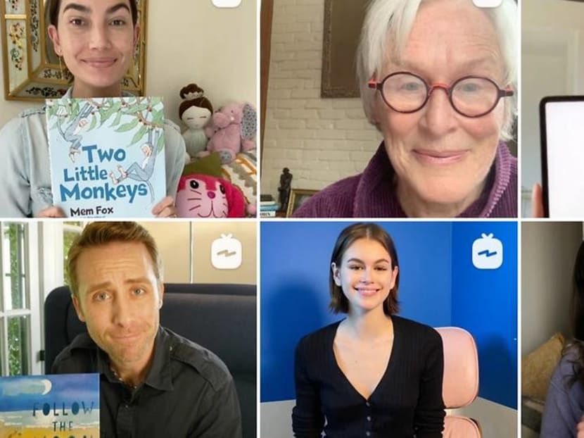 Once upon a time: Watch Hollywood celebrities tell children's stories online