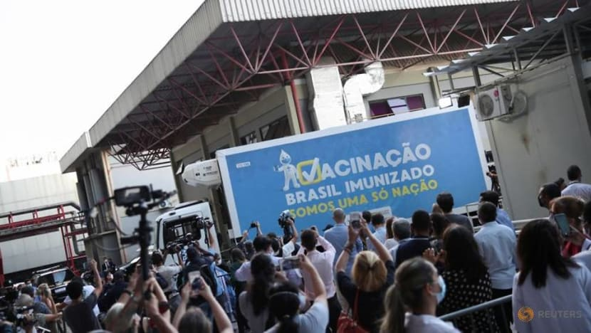 Brazil gets first active ingredients for AstraZeneca vaccine from China