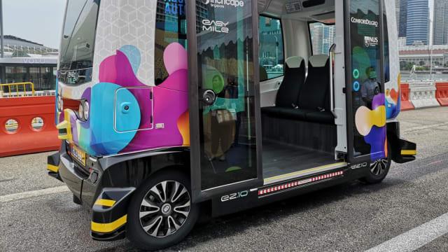 康福德高无人驾驶巴士EZ10推出提升版功能