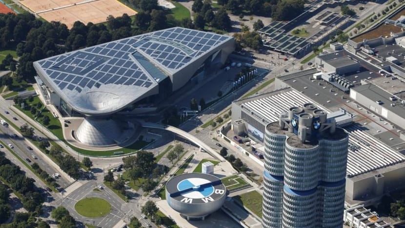 Germany's auto show tries for more climate friendly image