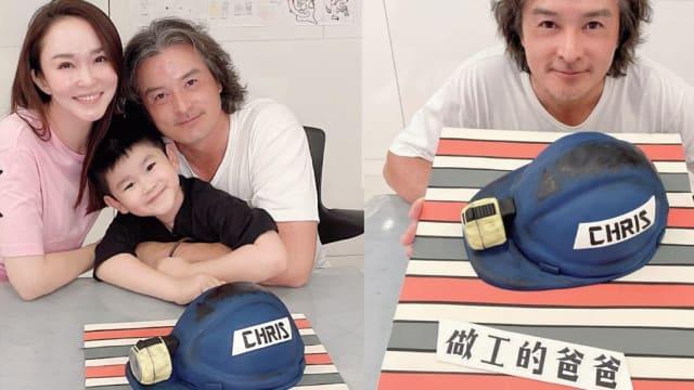 """李铭顺迎来50岁 享受""""做工的爸爸""""惊喜!"""