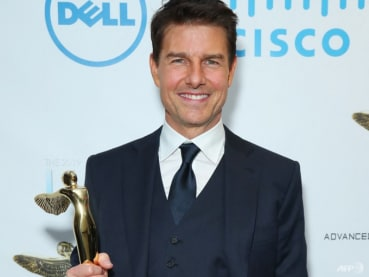 Tom Cruise gets sneak preview from SpaceX's first private crew