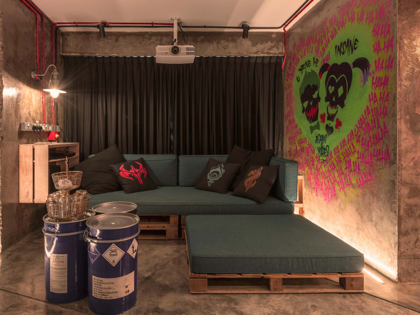 Transforming a 4-room HDB flat into an edgy 'post-apocalyptic' home