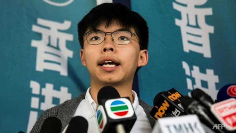 Hong Kong's Joshua Wong to be released from prison on Monday: Party