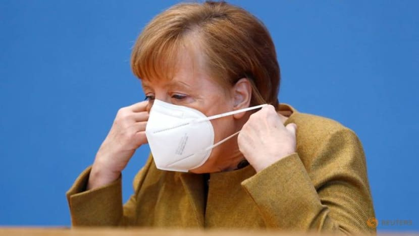 Stop complaining about slow COVID-19 vaccine roll-out, Merkel urges Germans