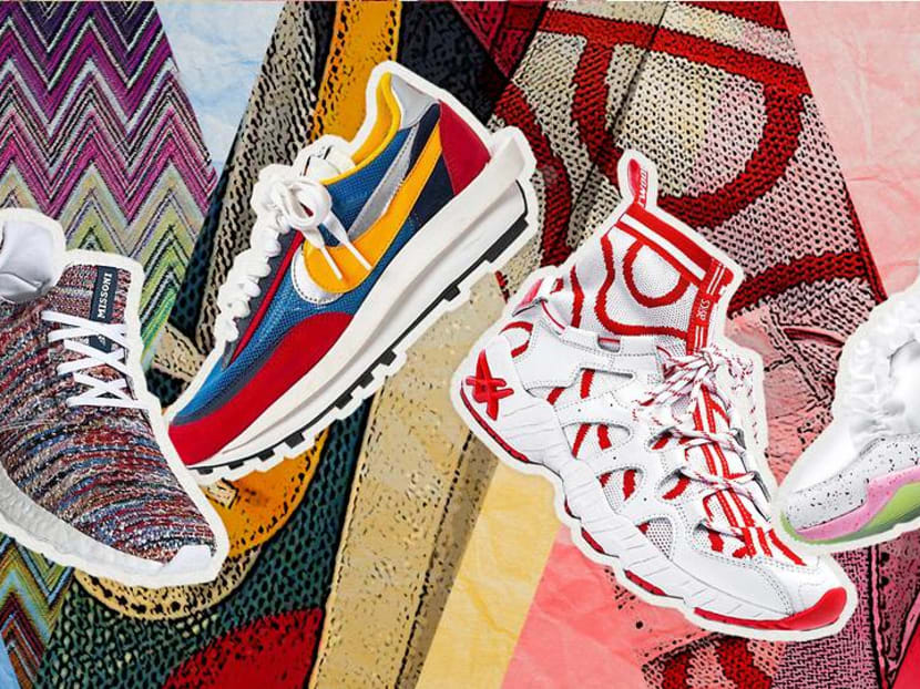 The hottest and trendiest designer sneaker collaborations to put on your radar