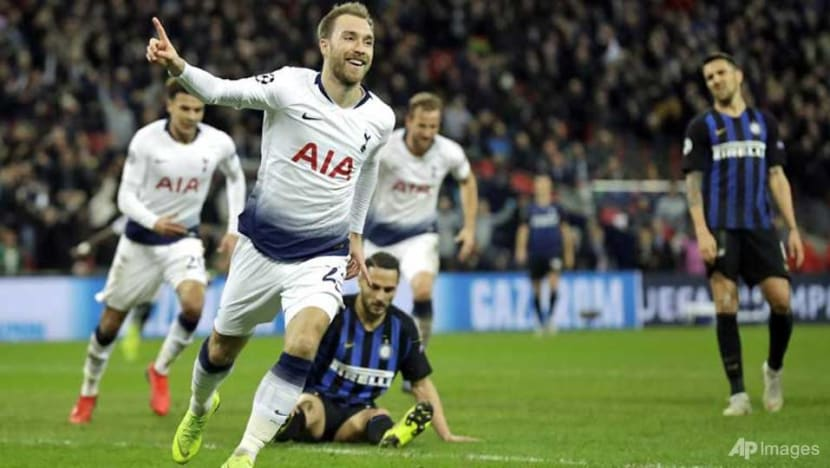 Football: Eriksen's late show keeps Spurs in hunt for last 16 berth