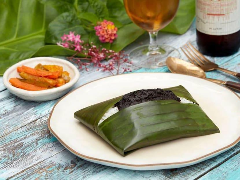 Nasi lemak buah keluak and mee siam rosti? You can enjoy them at the Raffles