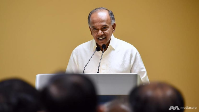 Prisons exploring use of digital platforms to help ex-offenders better reintegrate into society: Shanmugam