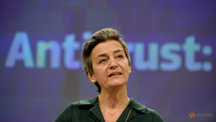 EU's Vestager warns Apple to treat all apps equally amid privacy dispute