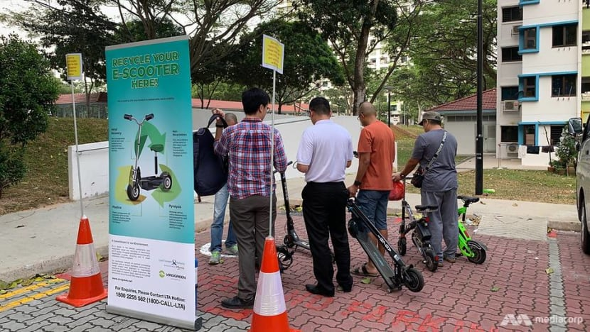 Slow start to LTA's early disposal incentive for e-scooters that don't meet fire safety standards