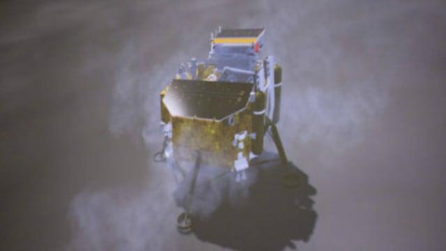 人类首次!中国探测器在月球背面着陆