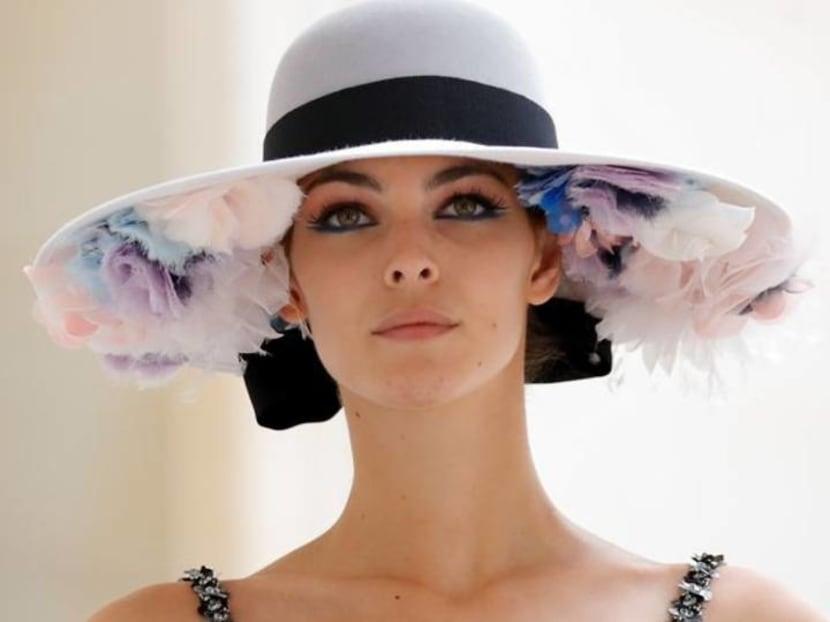 Chanel splashes plenty of colour at haute couture live show