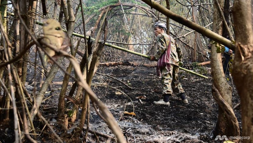 On the front line with the Chiang Mai firefighters battling the flames behind the world's worst air