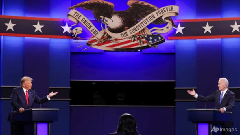 Commentary: Trump and Biden battle in last leg of presidential race – but do Americans care?