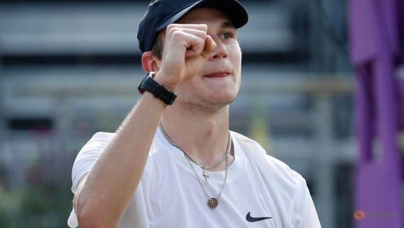 Tennis-Djokovic to play British teenager Draper as Wimbledon returns