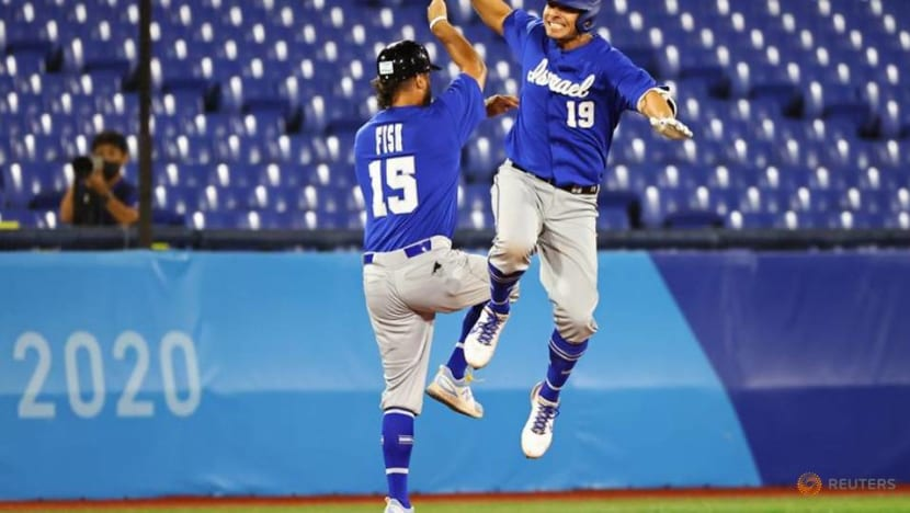 Olympics-Baseball-Israel's dejected US-born stars hope to inspire native heroes to fill their cleats
