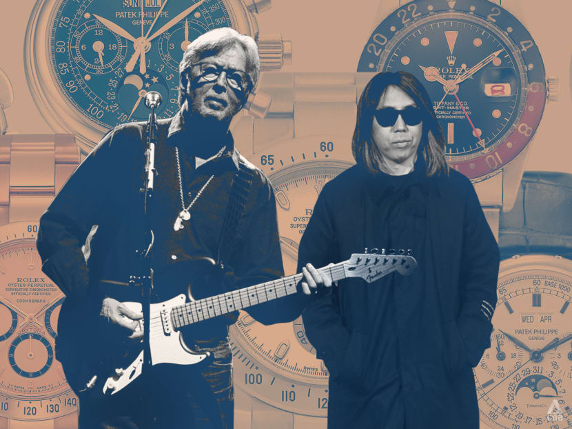 Eric Clapton and Hiroshi Fujiwara's personal watches are up for grabs