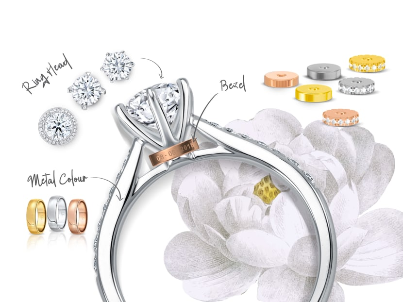Find your brilliance in bespoke: Discover custom diamond rings that reflect every facet of your love story