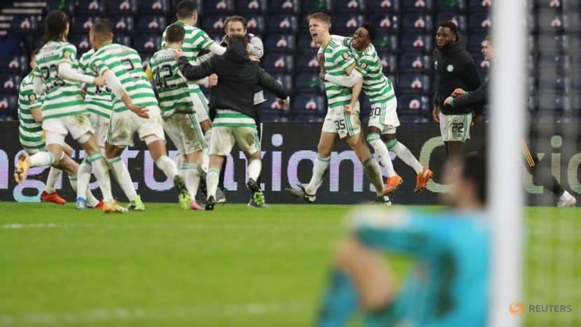 Football: Celtic clinch historic quadruple-treble with shootout win in Scottish Cup