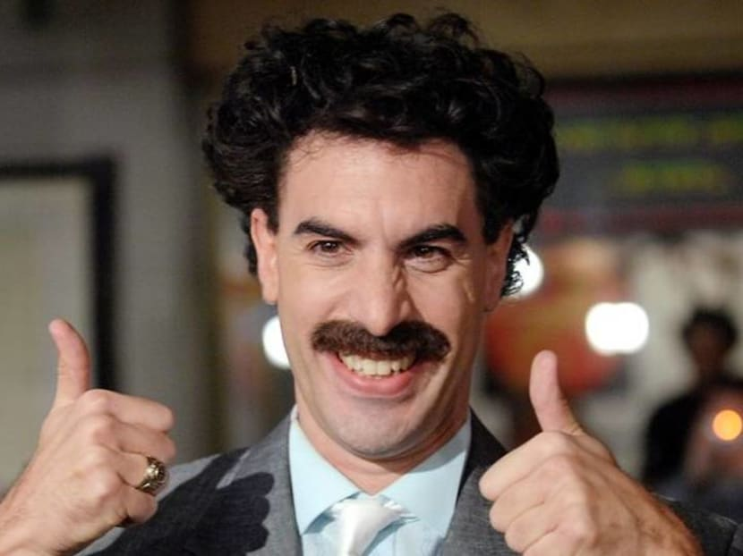 Borat bounces back just ahead of US elections with 'outrageous' pranks