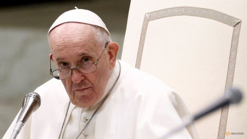 Pope Francis urges everyone to get COVID-19 vaccines, calling it 'an act of love'