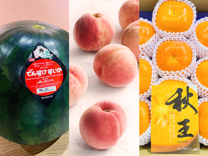 Why are Singaporeans snapping up S$220 watermelons and S$450 persimmons?