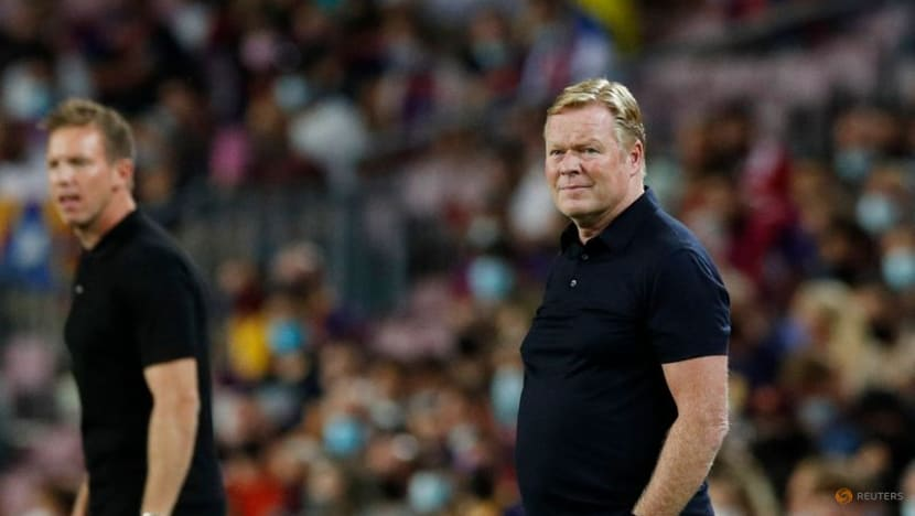 Football: 'It is what is' - Koeman accepts Barca fate after Bayern schooling