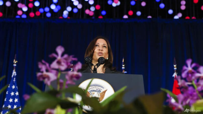 US stands with allies, partners in face of China's 'threats', says Kamala Harris