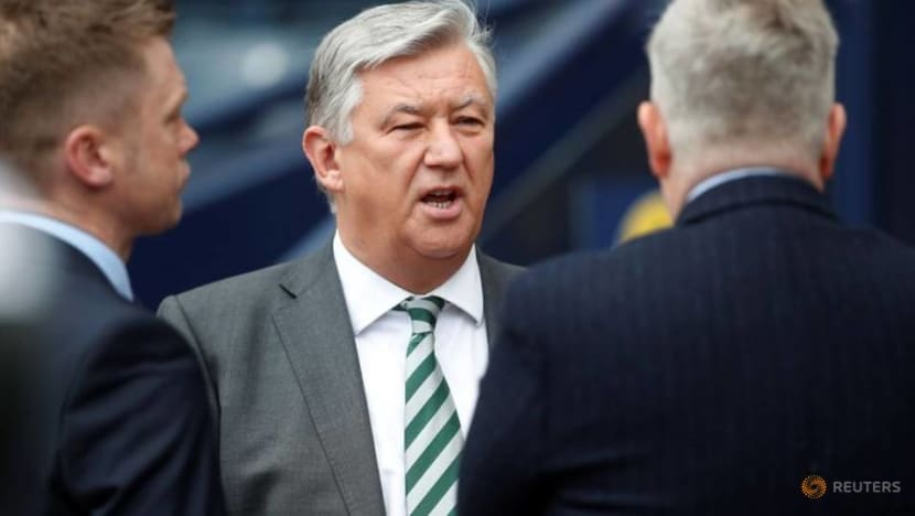 Celtic chief executive Lawwell to retire in June