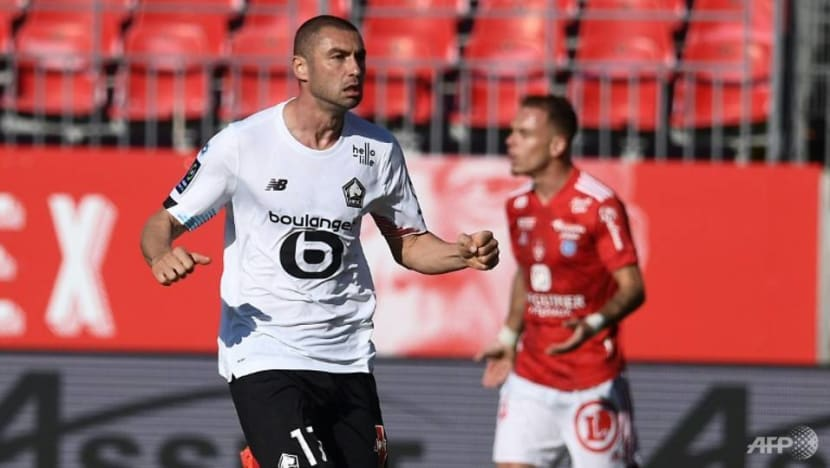 Football: Lille suffer first Ligue 1 defeat of season at Brest
