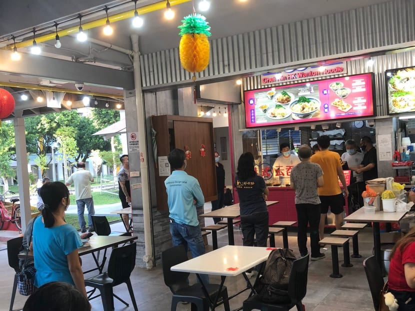 Commentary: Even COVID-19 won't stop Singapore's penchant for queuing up for food