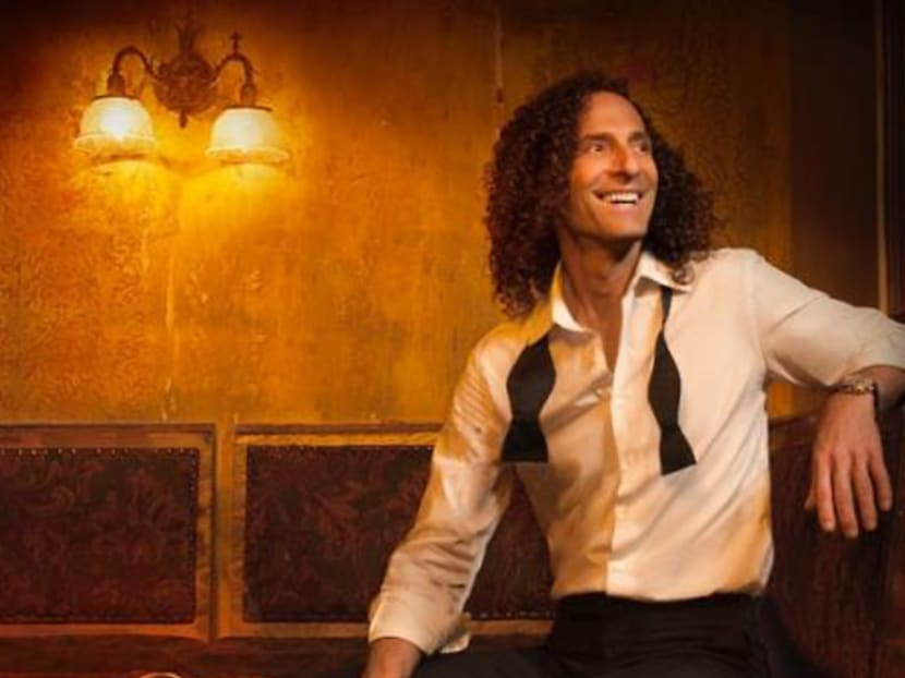 Saxophonist Kenny G to perform in Singapore in November