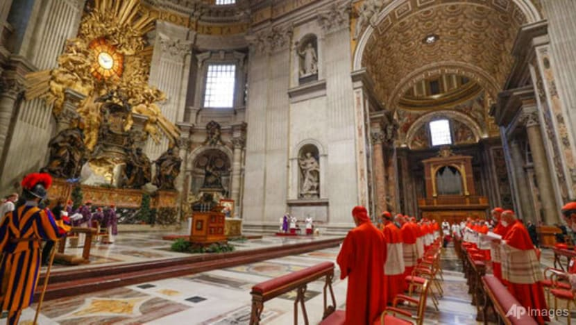 Pope Francis, with new cardinals, warns Catholic Church against mediocrity