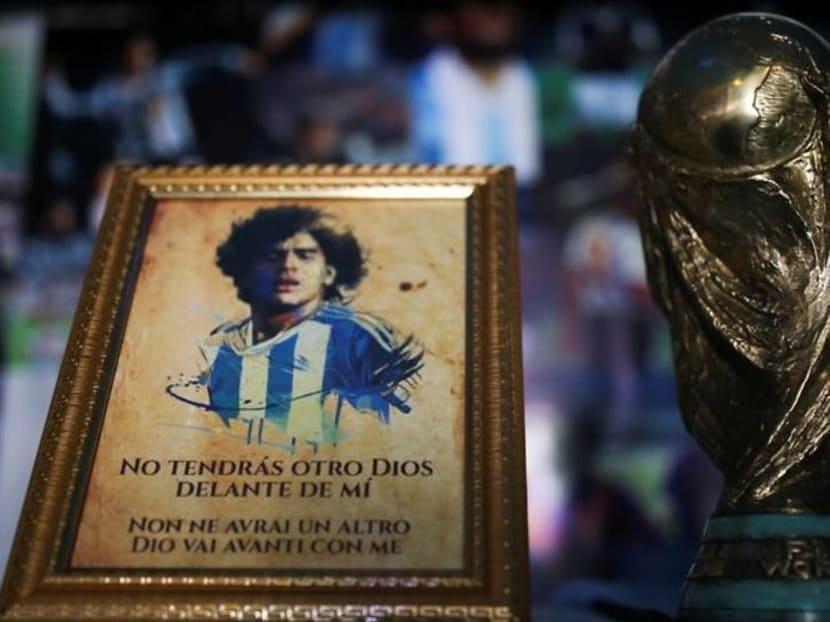 Church in honor of Maradona opens its doors in Mexico