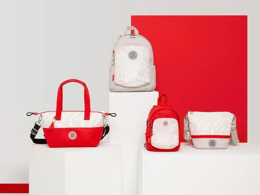 This Kipling x Coca-Cola bag collection saves 272,129 plastic bottles from landfills