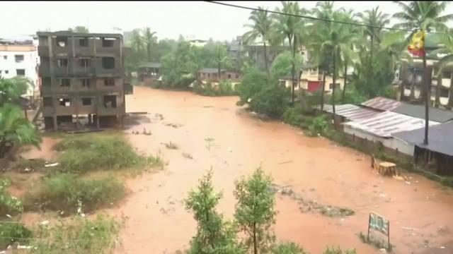 印度洪灾死亡人数飙升到125
