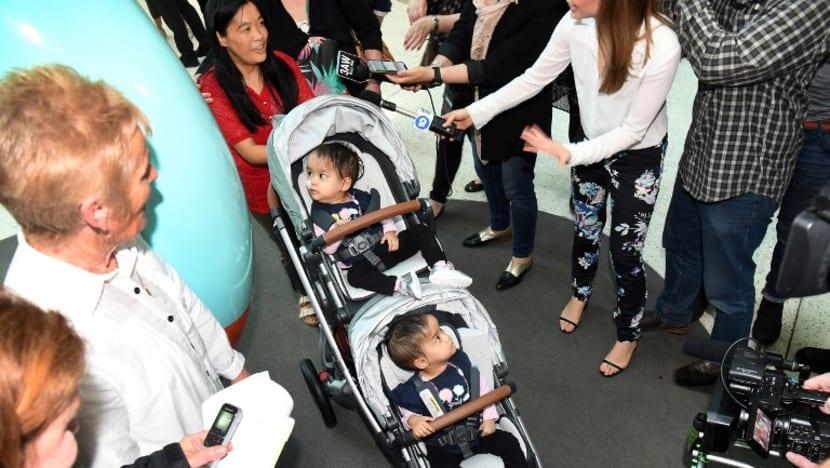 Separated Bhutanese twins leave Australia hospital