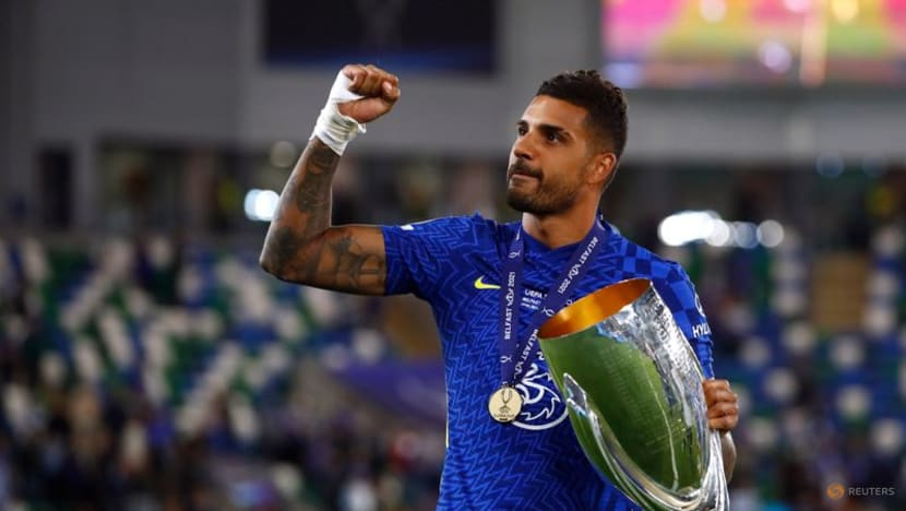 Soccer-Chelsea's Emerson secures loan move to Lyon