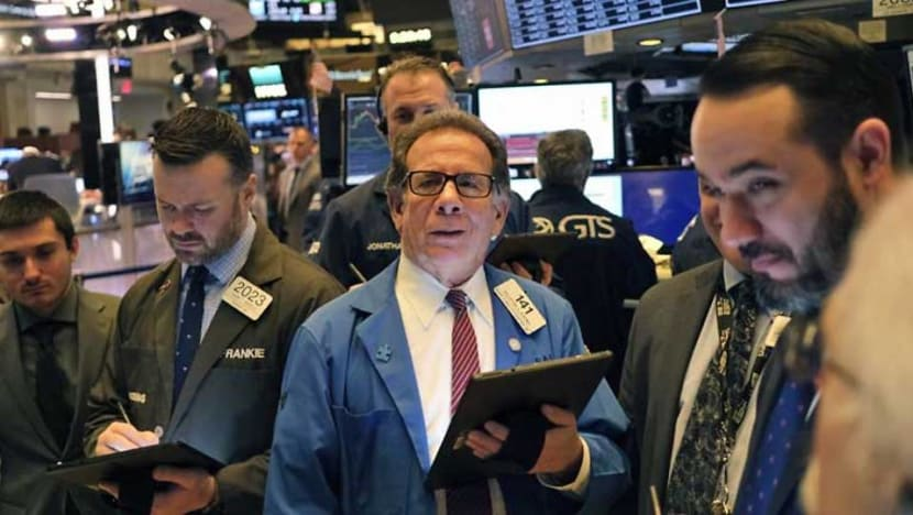 Nasdaq ends at record amid lower anxiety at US-Iran conflict