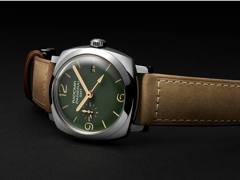 About face: Panerai's new military-styled dials will make you green with envy