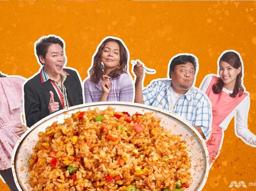 Nasi goreng, very nice? The cast of Fried Rice Paradise TV series on which fried rice dish represents them