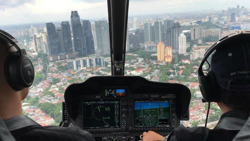 In gridlocked Jakarta, Indonesia's first airport helicopter service targets niche market