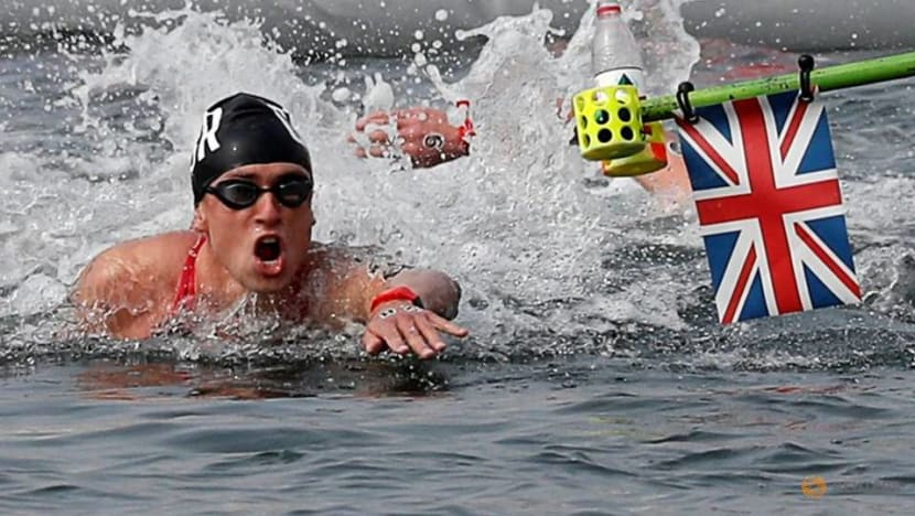 Tokyo is a swim too far for Britain's Burnell