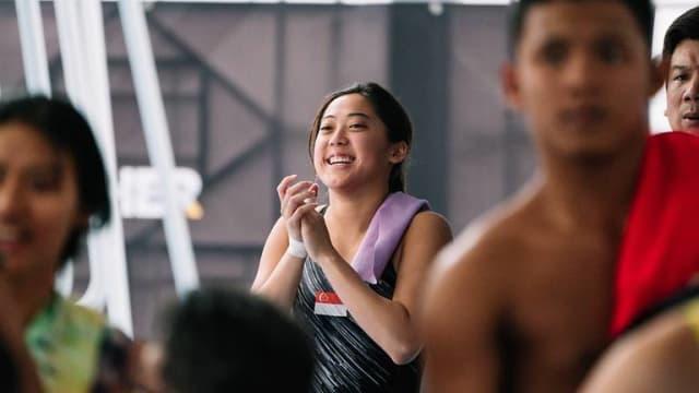 我国跳水女将林升艳今天进行女子十米跳台预赛