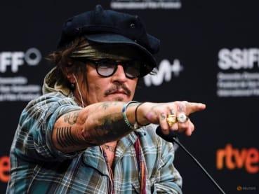 Johnny Depp decries 'cancel culture' before receiving film festival's top prize