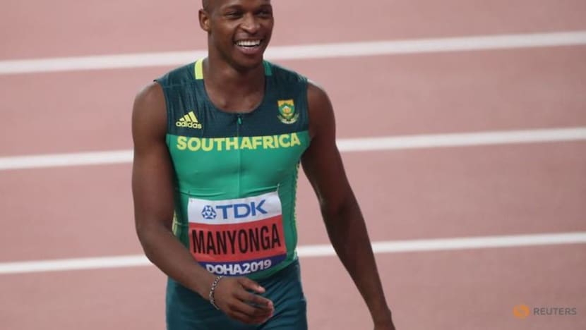 Olympic silver medallist Manyonga handed provisional suspension