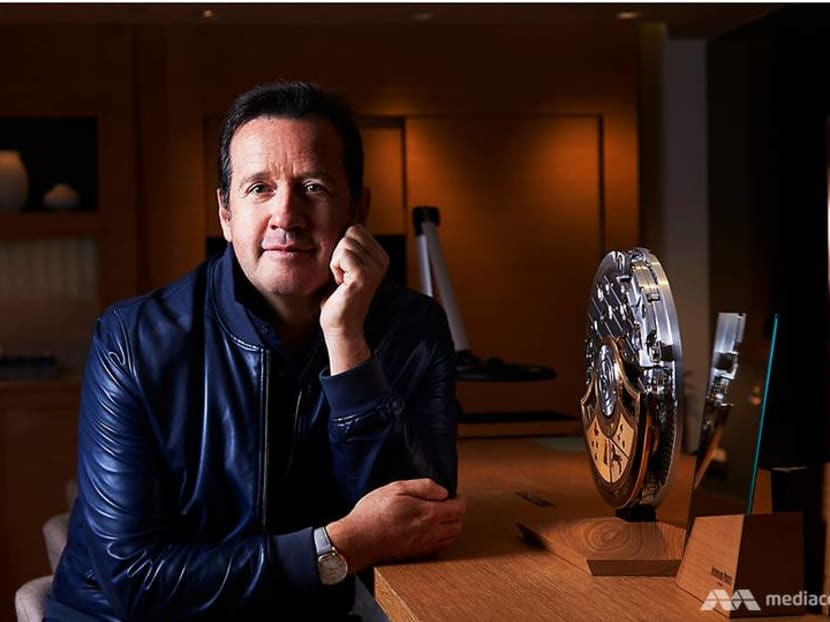 Why did the CEO of Audemars Piguet send his staff for military training?