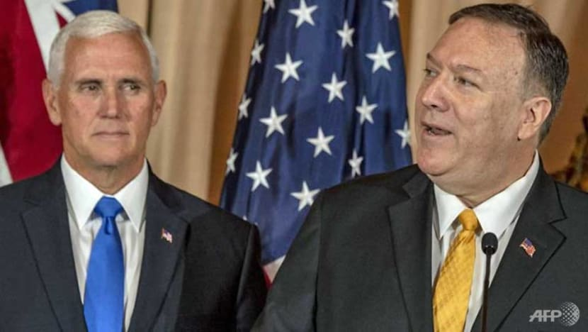 US emphasises diplomacy in standoff with Iran