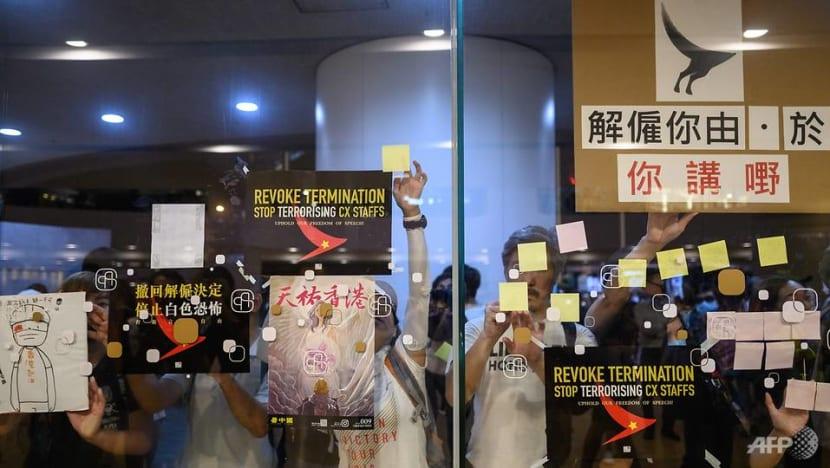 Sacked Hong Kong Cathay staff decry 'Cultural Revolution' purge